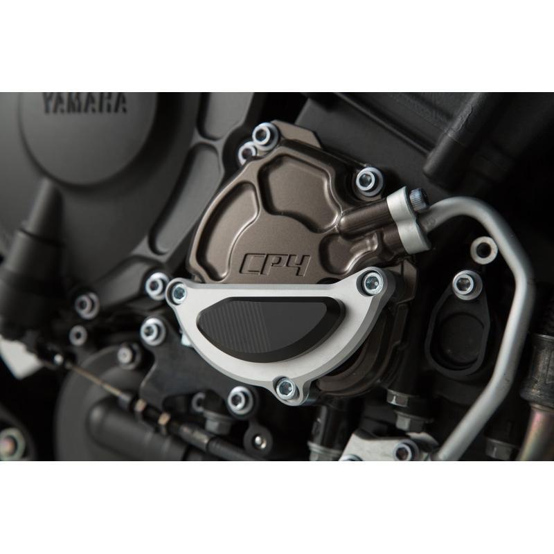Protection de couvercle de carter moteur SW-MOTECH noir / gris Yamaha MT-10 16-