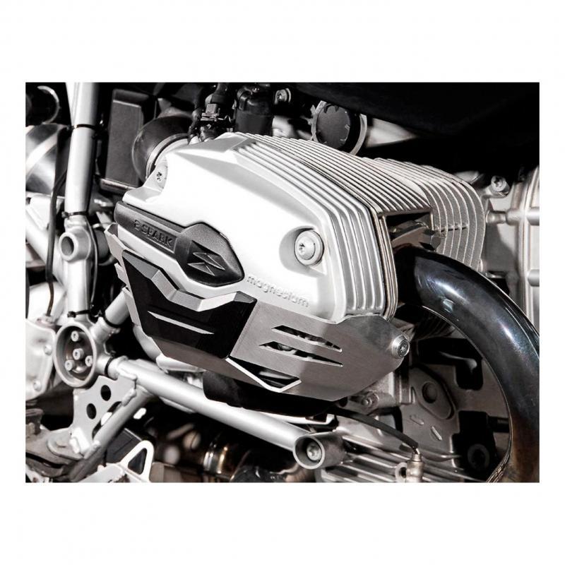 Protection de cylindre SW-MOTECH gris BMW R1200 R / ST / GS / Adventure (paire)