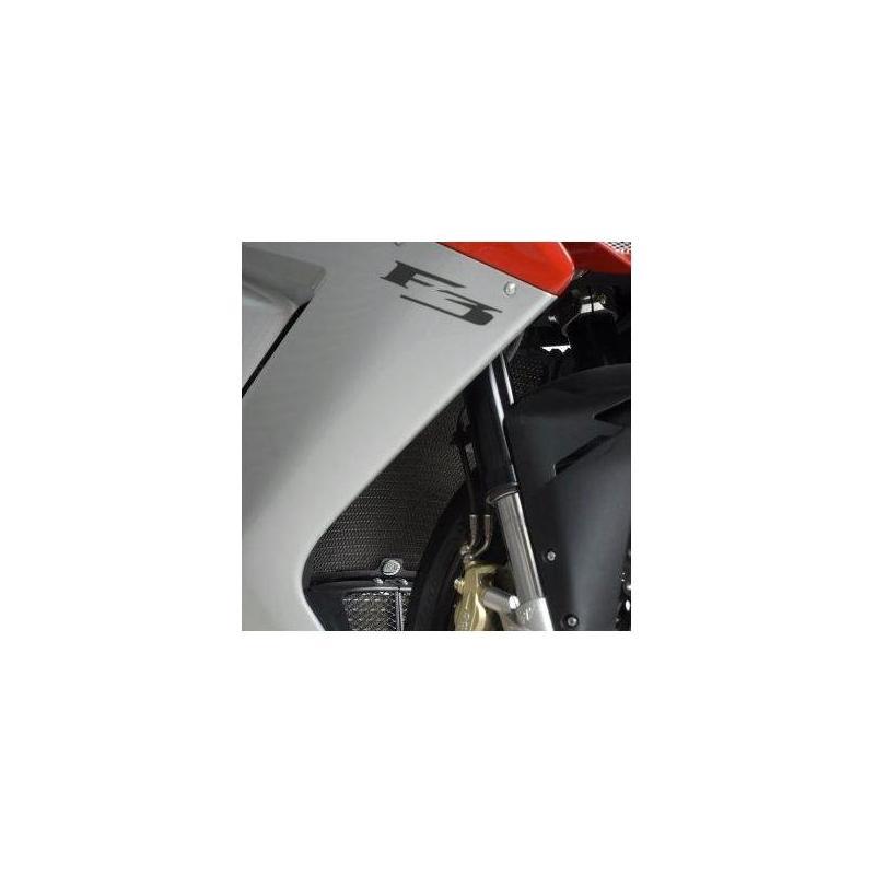 Protection de radiateur R&G Racing noire MV Ahusta F3 675 13-18