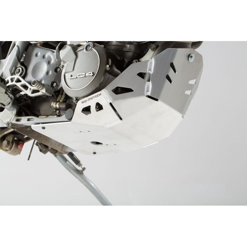 Sabot moteur SW-MOTECH gris KTM 620 Adventure 96-99 - 4