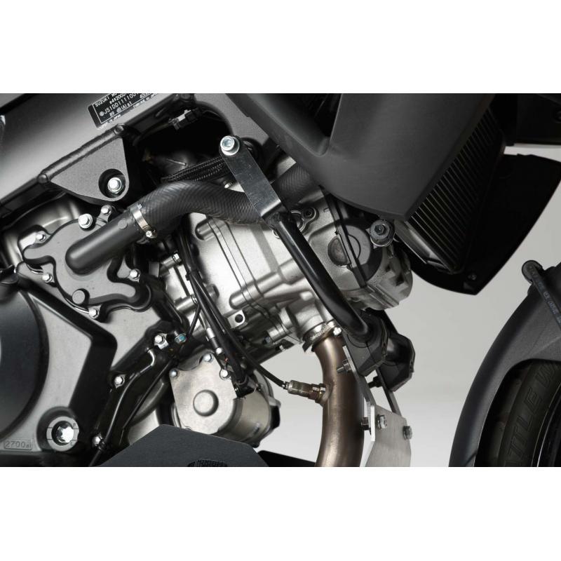 Sabot moteur SW-MOTECH sans barres de protection latérale noir / gris Suzuki V-Strom 1000 - 2