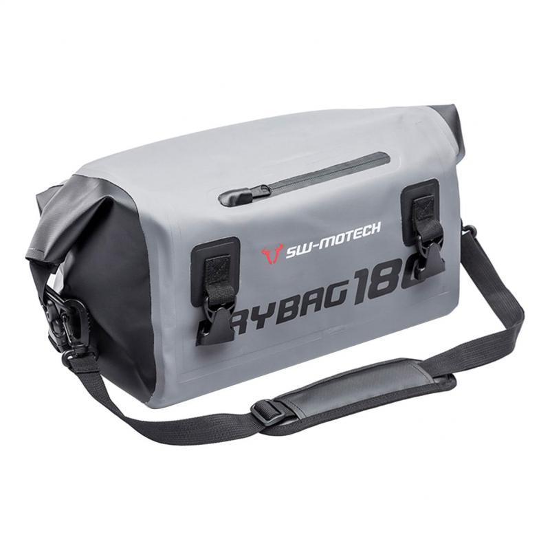 Sac étanche SW-MOTECH Drybag 180 18L gris / noir