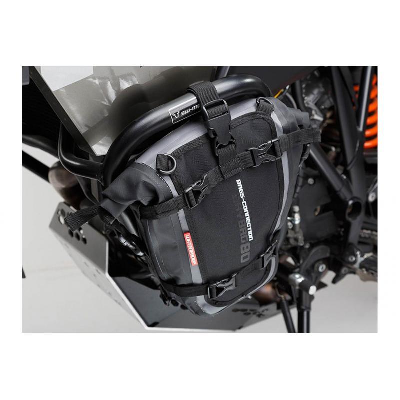 Sac étanche SW-MOTECH Drybag 80 8L gris / noir - 1