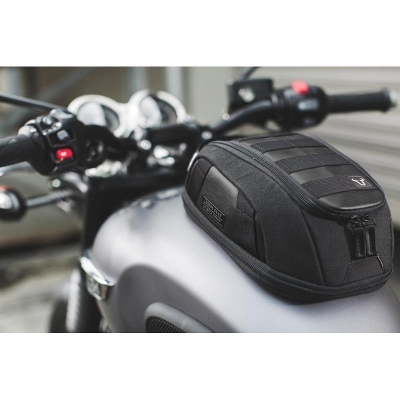 Sacoche de réservoir aimantée SW-MOTECH Legend Gear LT1 Black Edition - 1