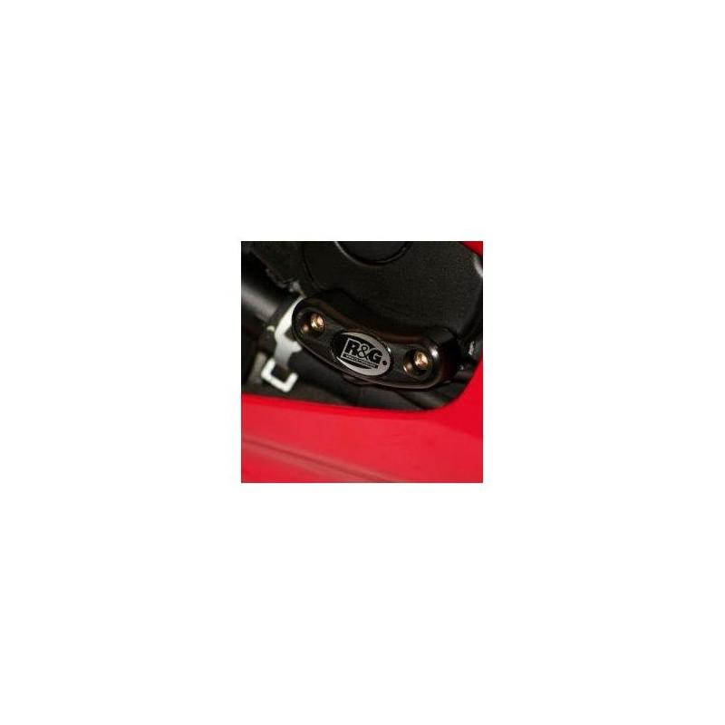 Slider moteur droit R&G Racing noir Yamaha YZF-R6 06-07