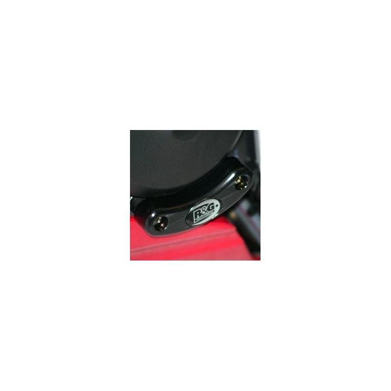 Slider moteur gauche R&G Racing noir Yamaha YZF-R6 06-18