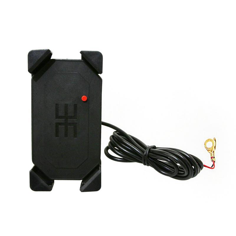 Support smartphone Avoc étanche avec chargeur USB - 1