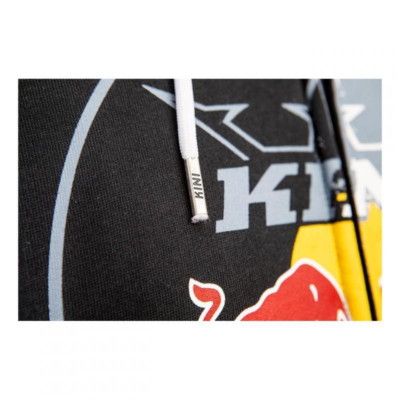 Sweat capuche enfant Kini Red Bull Circle anthracite - 2