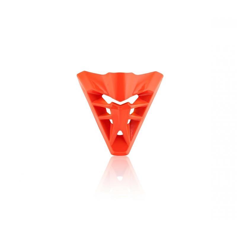 Ventilation avant Acerbis pour casque Profile 3.0 orange