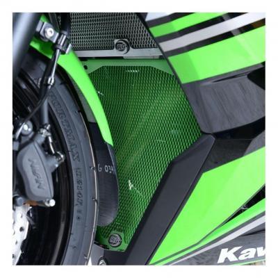 Grille de protection de collecteur R&G Racing noire Kawasaki Ninja 650 17-18