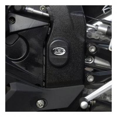 Insert de cadre gauche R&G Racing noir BMW S 1000 RR 12-14