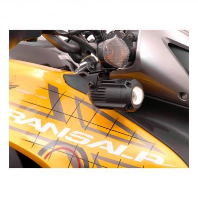 Support pour feux additionnels SW-MOTECH noir Honda XL700V Transalp 07-