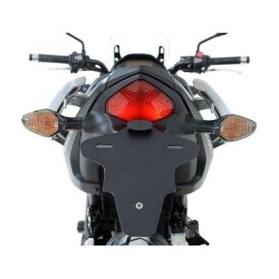 Support de plaque d'immatriculation R&G Racing noir Honda NC 750 X 14-15