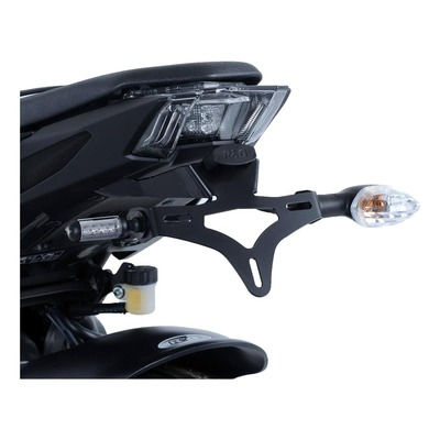Support de plaque d'immatriculation R&G Racing noir KTM Duke 690 12-18