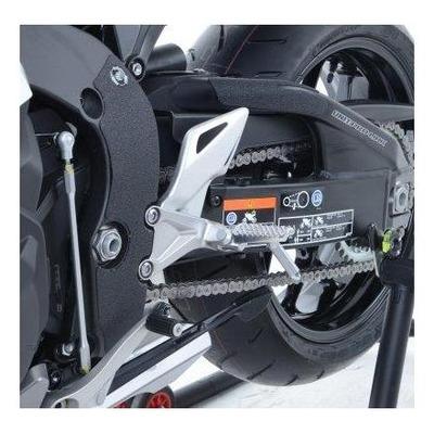 Adhésif anti-frottements R&G Racing noir platines repose-pieds Honda CBR 1000 RR 08-18