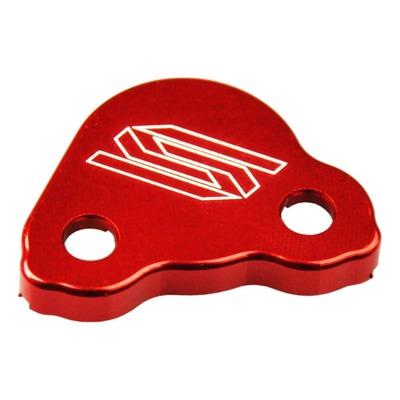 Couvercle de maître cylindre de frein arrière Scar aluminium anodisé rouge pour Honda CR 125 R 97-07
