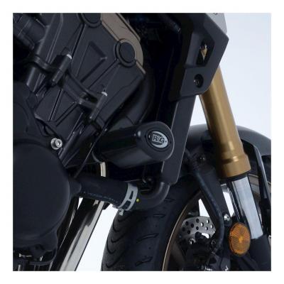 Tampons de protection R&G Racing Aero noir Honda CB 650 R Neo Sport Cafe 19-20