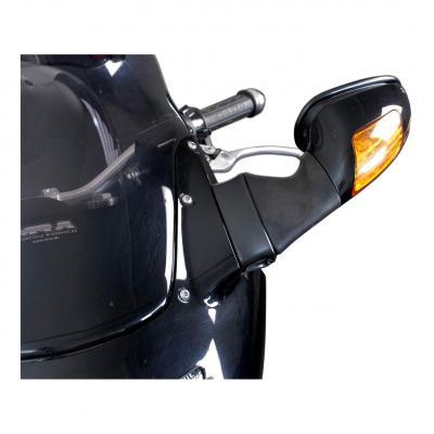 Extensions de rétroviseur SW-MOTECH Profile noir Honda CBR 1100 XX Blackbird 96-07