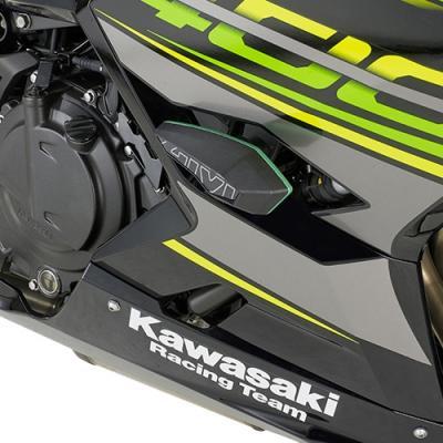 Kit de montage pour tampons de protection Givi Kawasaki Ninja 400 18-19