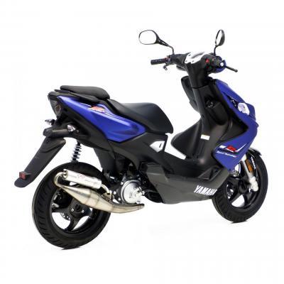 Pot d'échappement scooter Leovince Hand Made TT pour Yamaha Aerox 50 04-17