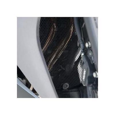 Grille de protection de collecteur R&G Racing noire Honda CBR 1000 RR 17-18