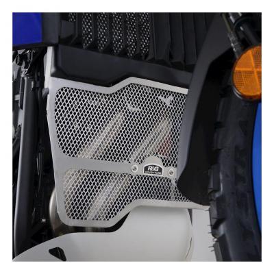Grille de protection de collecteur R&G Racing noire Yamaha Ténéré 700 19-20