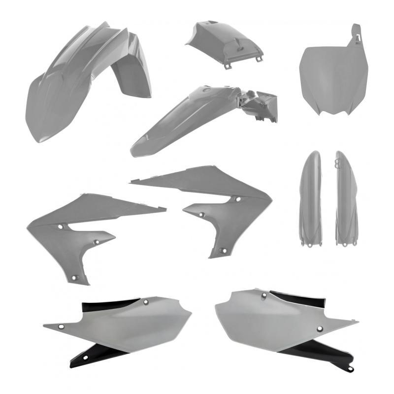 Kit plastiques complet Acerbis Yamaha 450 YZ-F 19-21 gris