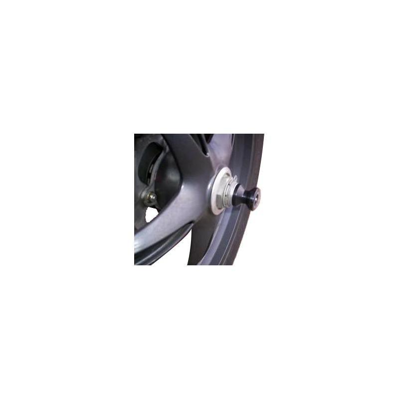 Tampons de bras oscillant diabolos R&G Racing noir Triumph Tiger 1050 07-14