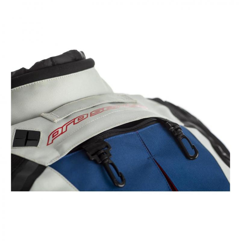 Veste textile RST Adventure-X Ice/bleu/rouge - 2