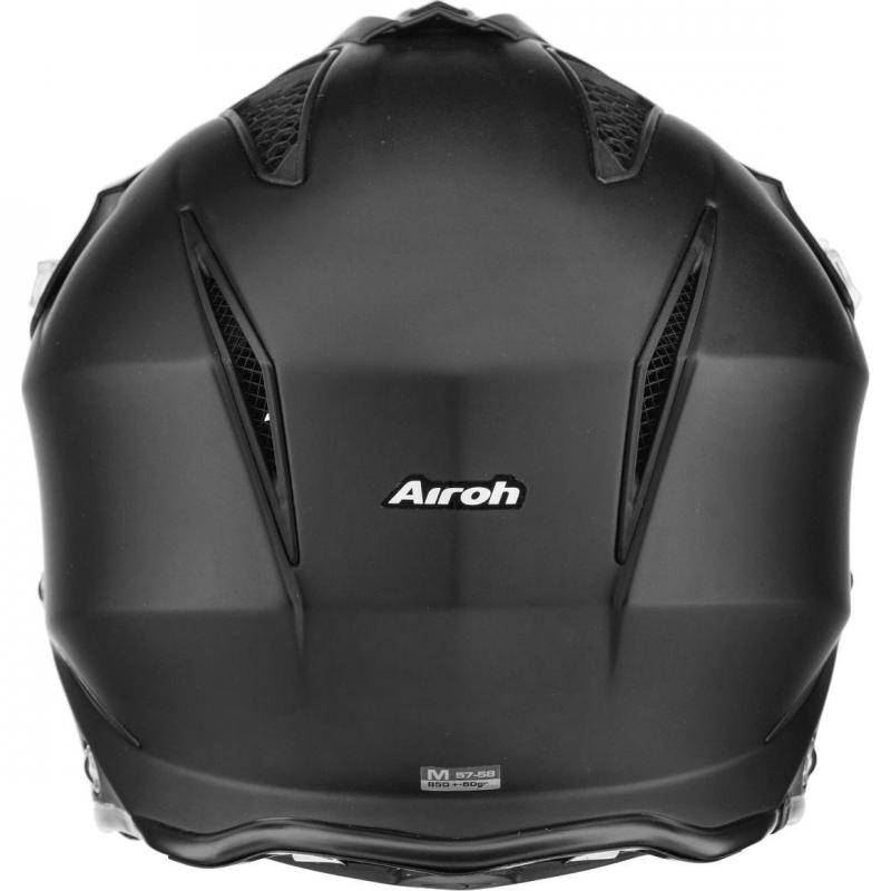 Casque trial Airoh TRR S Color noir mat - 2