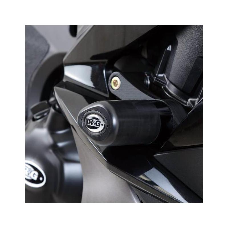 Tampons de protection R&G Racing Aero noir Kawasaki Z 1000 SX 17-18