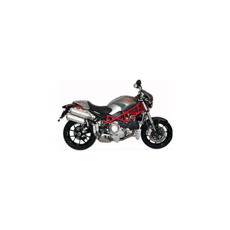Tampons de protection R&G Racing Aero noir Ducati Monster 696 08-14