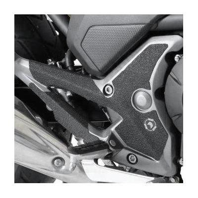 Adhésif anti-frottements R&G Racing noir platines repose-pieds Honda NC 750 X 15-18