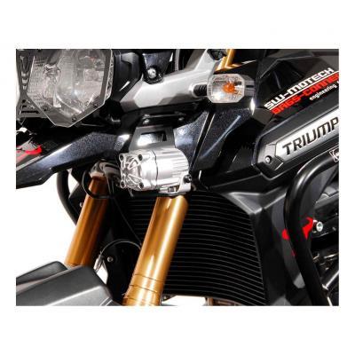 Support pour feux additionnels SW-MOTECH noir Triumph Tiger 1200 Explorer 11-15