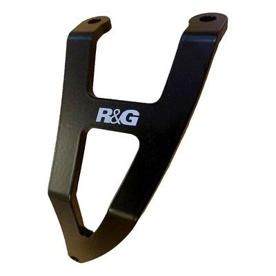 Kit de suppression de repose-pieds arrière R&G Racing noir Aprilia RSV4 1100 Factory 19-20