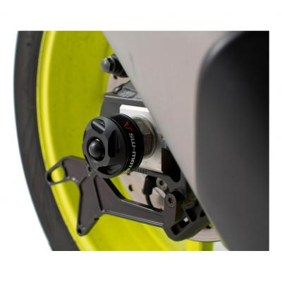 Protection de bras oscillant SW-MOTECH noir Yamaha YZF-R1 15- / MT-10 16-