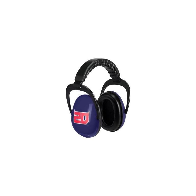 Casque anti-bruit Fabio Quartararo 20 bleu/rouge