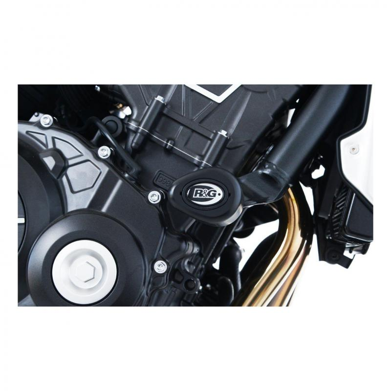 Tampons de protection R&G Racing Aero noir Honda CB 1000 R Neo Sport Cafe 19-20
