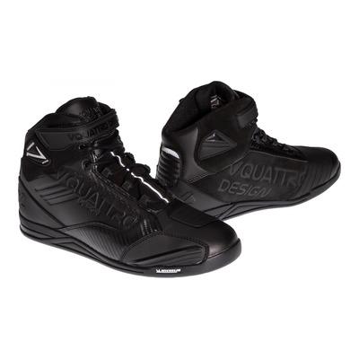 Basket moto cuir V'Quattro SBK noir