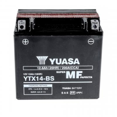 Batterie Yuasa YTX14-BS 12V 12Ah