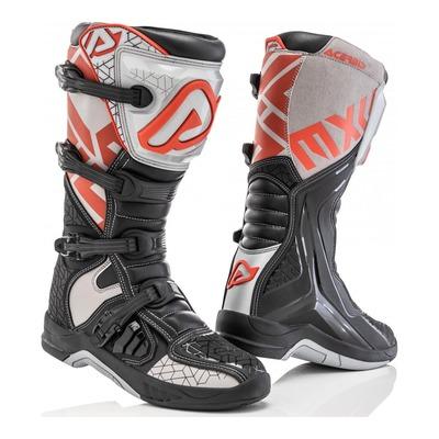 Bottes cross Acerbis X-Team noir/gris/rouge