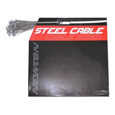 Câble de frein VTT Newton inox renforcé Ø1,6mm x 1,8m (boîte de 100 câbles)