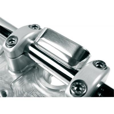 Cadre avec voyants pour compteur Motogadget Motscope Mini Aluminium poli