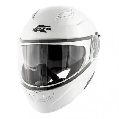 Casque modulable Kappa KV31 Arizona Basic blanc vernis