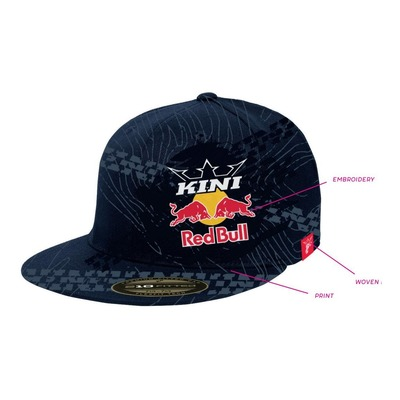 Casquette Kini Red Bull Topography bleu nuit