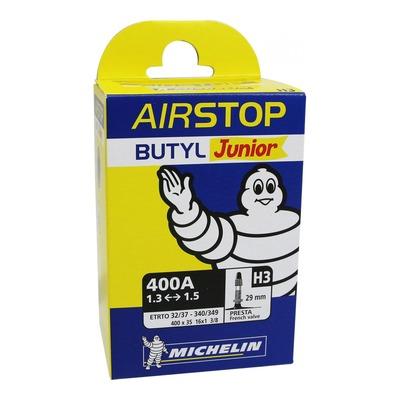 """Chambre à air vélo Michelin Air Stop 16"""" 400A x 32/37 H3 Presta 29mm"""