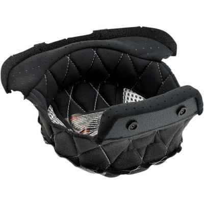 Coiffe de casque Bitwell pour casques Gringo et Gringo S noir/argent