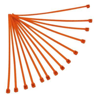 Collier de serrage nylon 4,8x300 mm RTech oranges