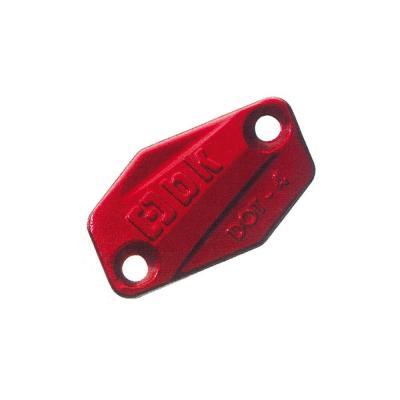 Couvercle de maître cylindre de frein Braktec rouge