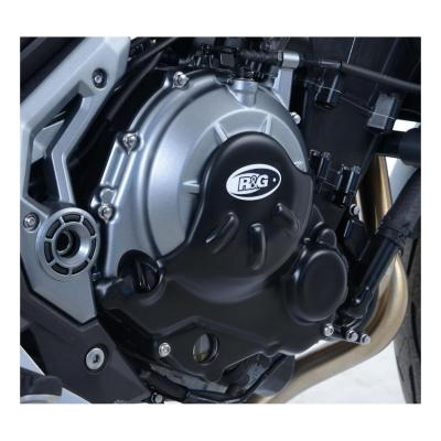 couvre carter droit (embrayage) R&G Racing Slash Cut noir Kawasaki Z 650 17-20